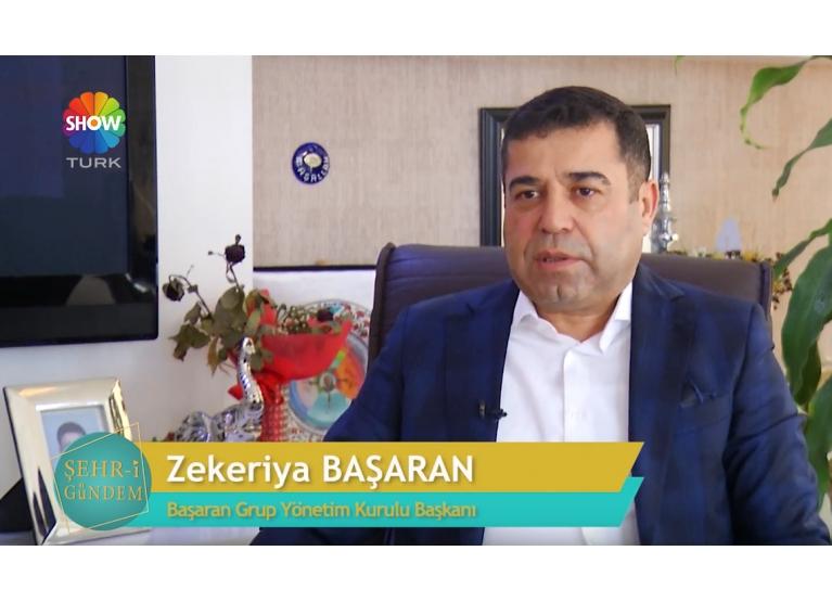 Show Türk Şehr-i Gündem Programına Konuk olduk
