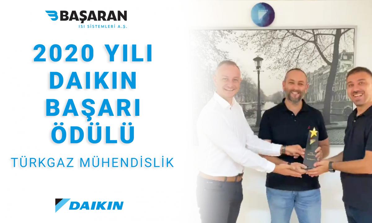 2020 Yılı Daikin Başarı Ödülü: Türkgaz Mühendislik